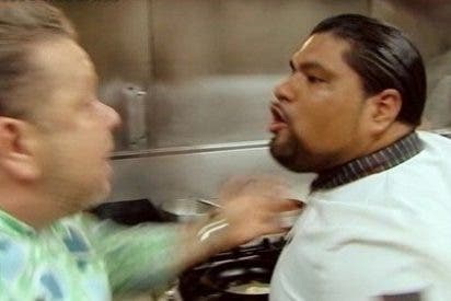 ¡Alerta roja! Por primera vez, Chicote es agredido en 'Pesadilla en la cocina'
