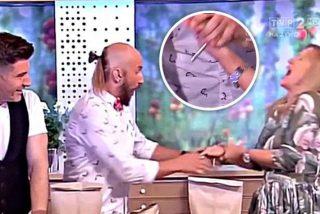 El mago patán se la clava en directo a la incauta presentadora de televisión