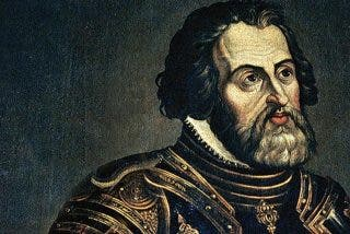 ¿Por qué en España no se ensalza la figura de un gigante como Hernán Cortes?