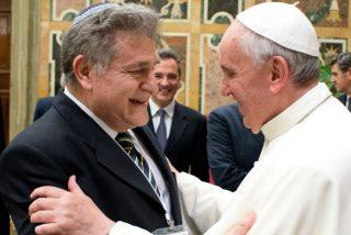 Francisco felicita a Skorka por el nuevo año judío