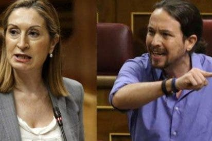 Ana Pastor le baja los humos a Pablo Iglesias por montar otro numerito de los suyos en el Congreso