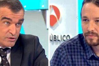 La pregunta de un tertuliano que deja helado y sin reacción a Pablo Iglesias