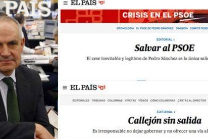 """Antonio Caño dice ahora que sus ataques a Pedro Sánchez se debieron a haber sido """"presa de la efervescencia"""""""