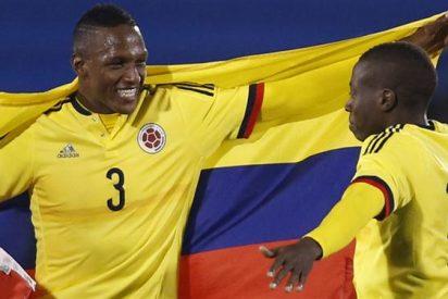 Barcelona firma preacuerdo por el central colombiano Yerry Mina