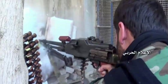 El impactante vídeo de los sangrientos combates entre el Ejército sirio y los cabezotas rebeldes
