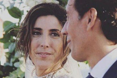 Paz Padilla se casa con su novio 'sociata' en una boda que, en realidad, no ha sido tal