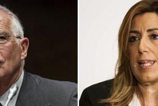 La guerra del PSOE no admite prisioneros: el 'sanchista' Borrell se lanza a por Susana Díaz