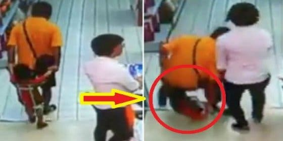 [VÍDEO] El padre le rompe el cuello a su hijo por accidente mientras juegan
