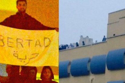 Los podemitas de 'Ahora Madrid' convierten el grave motín de Aluche en un reality show