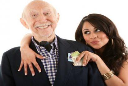 La enamorada jovenzuela descubre que se ha casado con su abuelo y le salen hasta canas