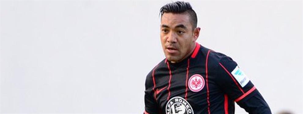 De menos a mas, Marco Fabián ya se adapto a la Bundesliga