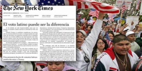 El editorial del New York Times animando a los latinos a votar contra Donald Trump