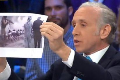 """Eduardo Inda deja en bolas a los podemitas sacando su lista de """"delincuentes"""""""