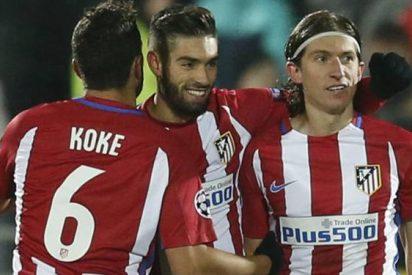 El Atlético se encomienda a Carrasco y vuelve a ganar con un gol suyo