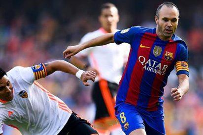 El Barça se despide de Andrés Iniesta para lo que queda de año