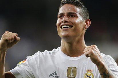 El Real Madrid consigue que James no fuerce y se vuelva a España