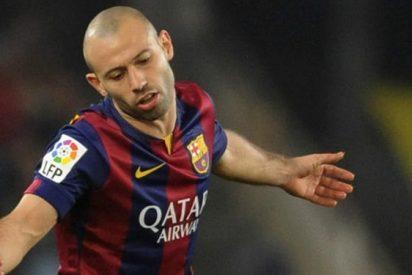 El futuro de Mascherano en el Barça está en el aire