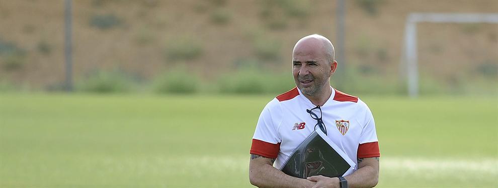 El jugador que Sampaoli no pudo echar del Sevilla