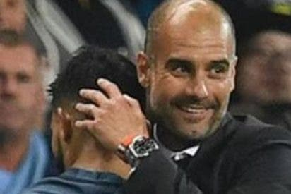 El mensaje de Guardiola a un Agüero de récord histórico en el City