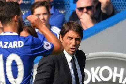 El mensaje (en tono de advertencia) de Hazard a Antonio Conte