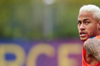 El ?palito? de Neymar a Cristiano Ronaldo