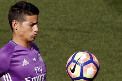 El pánico que puede hacer que James Rodríguez regrese a Madrid