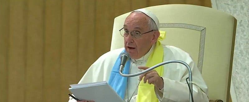 """El Papa a los luteranos: """"El proselitismo es el veneno más potente contra el camino ecuménico"""""""