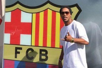 El primer desprecio de Ronaldinho a la actual directiva del Barça