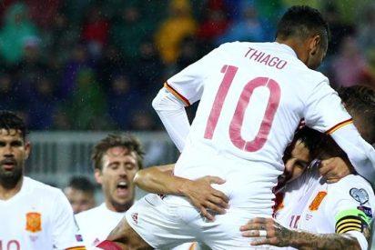 El 'show' de un jugador del Real Madrid en la Roja