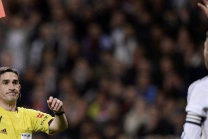El vestuario del Madrid se encendió con el partido de Mestalla