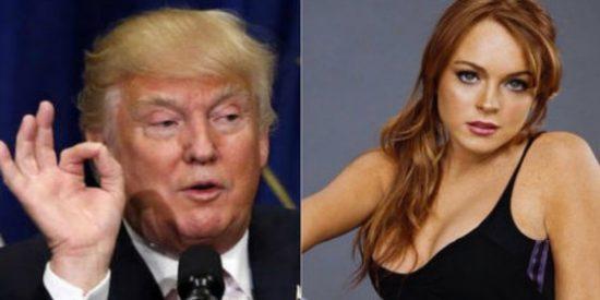[AUDIO] Los comentarios sexuales de Trump sobre Lindsay Lohan terminan de hacerle la cama