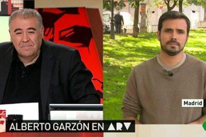 """¡Menudo globo tiene Garzón!: """"Es de esquizofrenia pura que el PSOE apoye a Rajoy"""""""