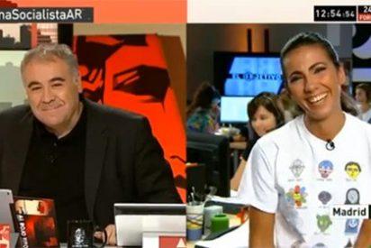 El desopilante momentazo entre García Ferreras y Ana Pastor