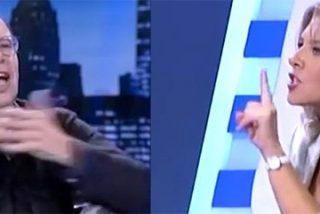 """Broncazo de Jaime González a Eva Llarandi: """"Eres el vivo ejemplo del sectarismo"""""""