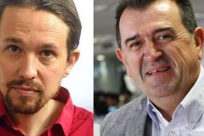 Pablo Iglesias le lee la cartilla a Arsenio Escolar, que corre raudo a disculparse