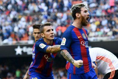 ¡Insólito! Los insultos de Messi a la afición valencianista