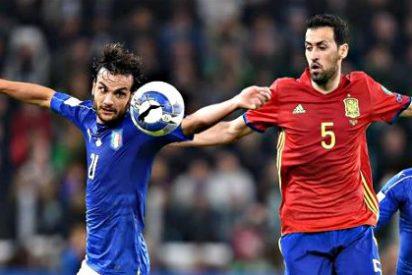 España deja escapar viva a Italia en Turín (1-1)