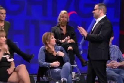 Jorge Javier Vázquez pierde los papeles contra la madre de Pol en 'GH17'