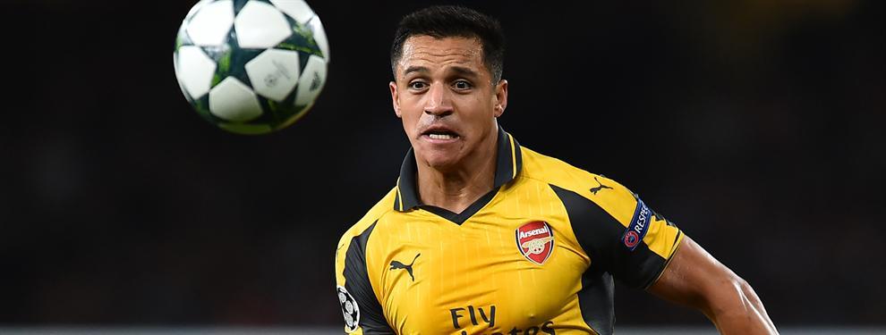 La oferta multimillonaria que prepara el Arsenal para renovar a Alexis Sánchez