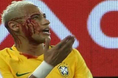 La polémica tarjeta amarilla a Neymar que nadie se cree en Brasil