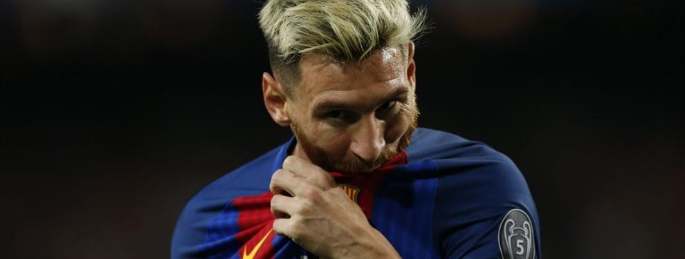 La renovación de Messi parada por una cláusula de salida