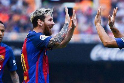 Las cinco claves de una victoria muy polémica del Barça en Mestalla