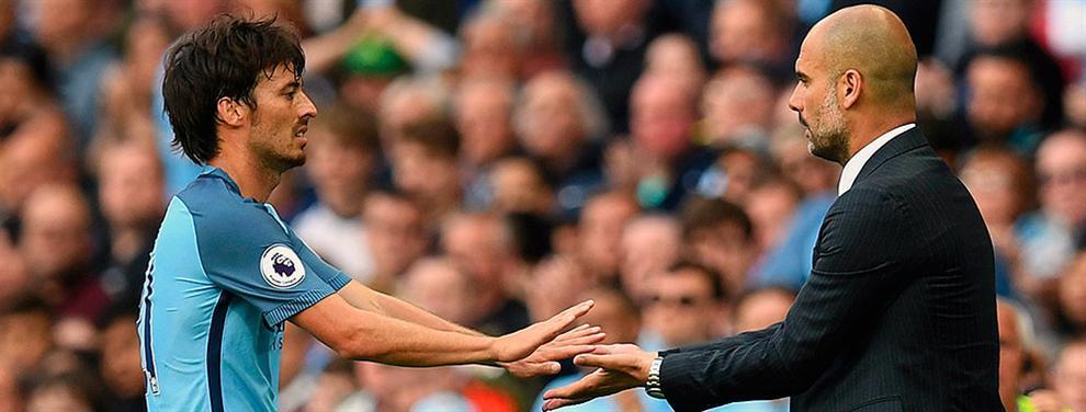 Lío en el City: Silva, ¿el próximo en el punto de mira de Guardiola?