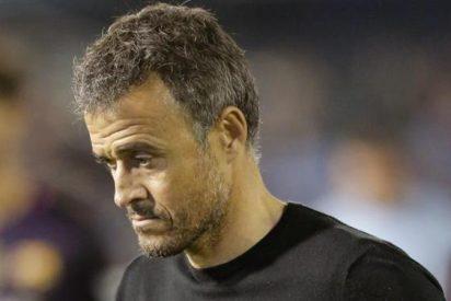 Los jugadores del Barça se acuerdan otra vez de la pizarra de Luis Enrique