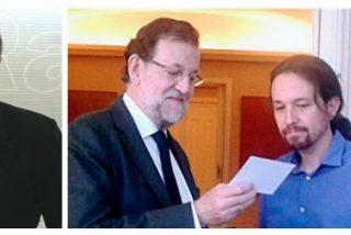 """Losantos apalea a Rajoy por coleguear con Iglesias: """"Es un percebe fascinado por Koleta Borroka"""""""