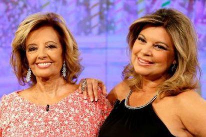 María María Teresa Campos sufre un vahído en plena emisión de '¡Qué tiempo tan feliz!'