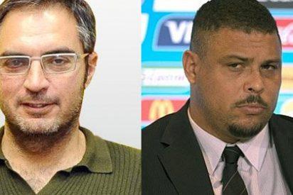 """Lluís Mascaró llama """"gordo"""" y """"traidor"""" a Ronaldo"""