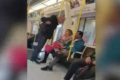 [VÍDEO] Así responde la valiente española a una agresión racista en el metro de Londres
