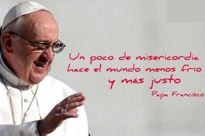 """Francisco: """"No es malo hacer filantropía, pero no es misericordia, es otra cosa"""""""