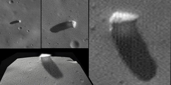 El misterioso monolito avistado por la NASA en una luna de Marte